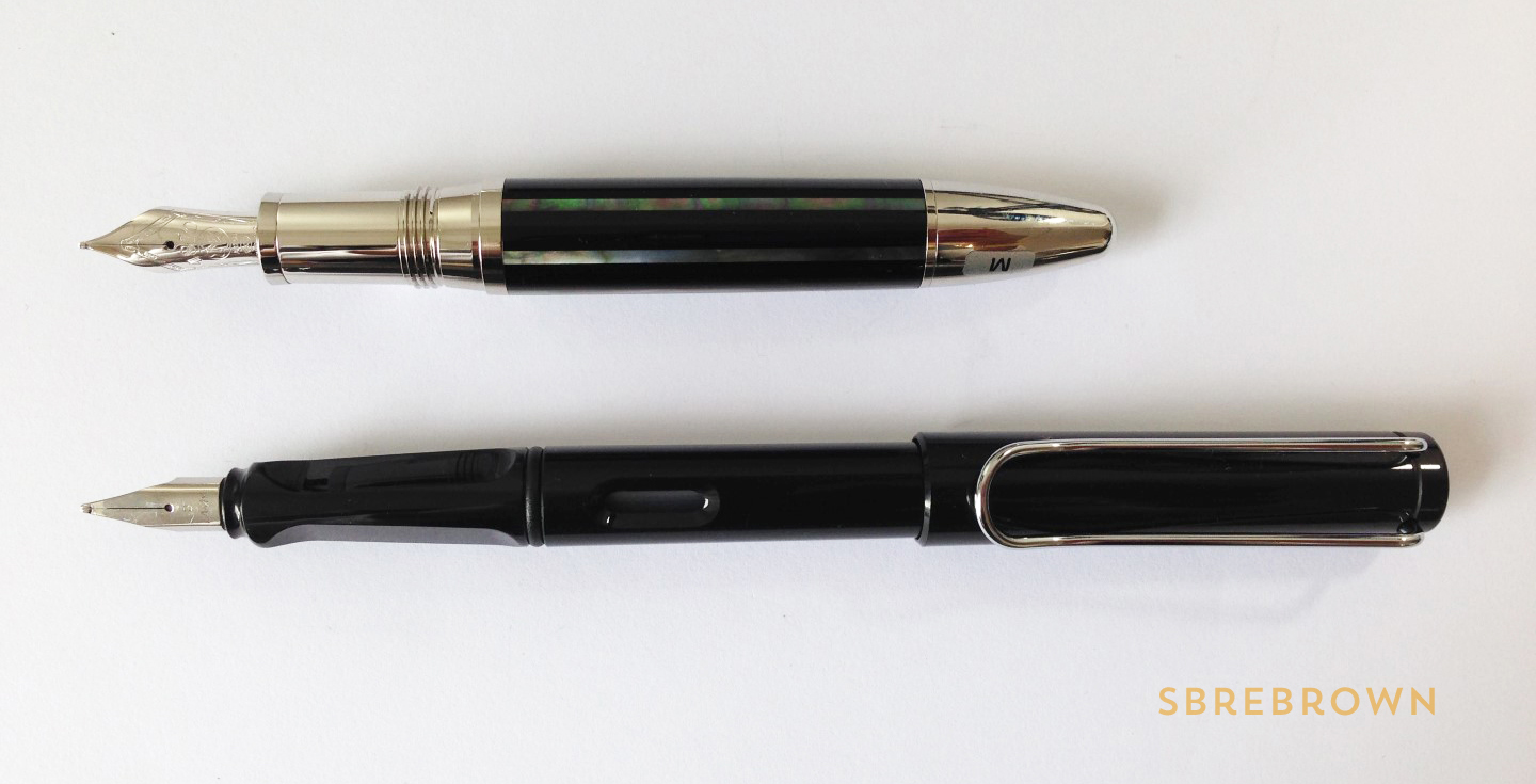 Montblanc Moon Pearl Fountain Pen Review (6)
