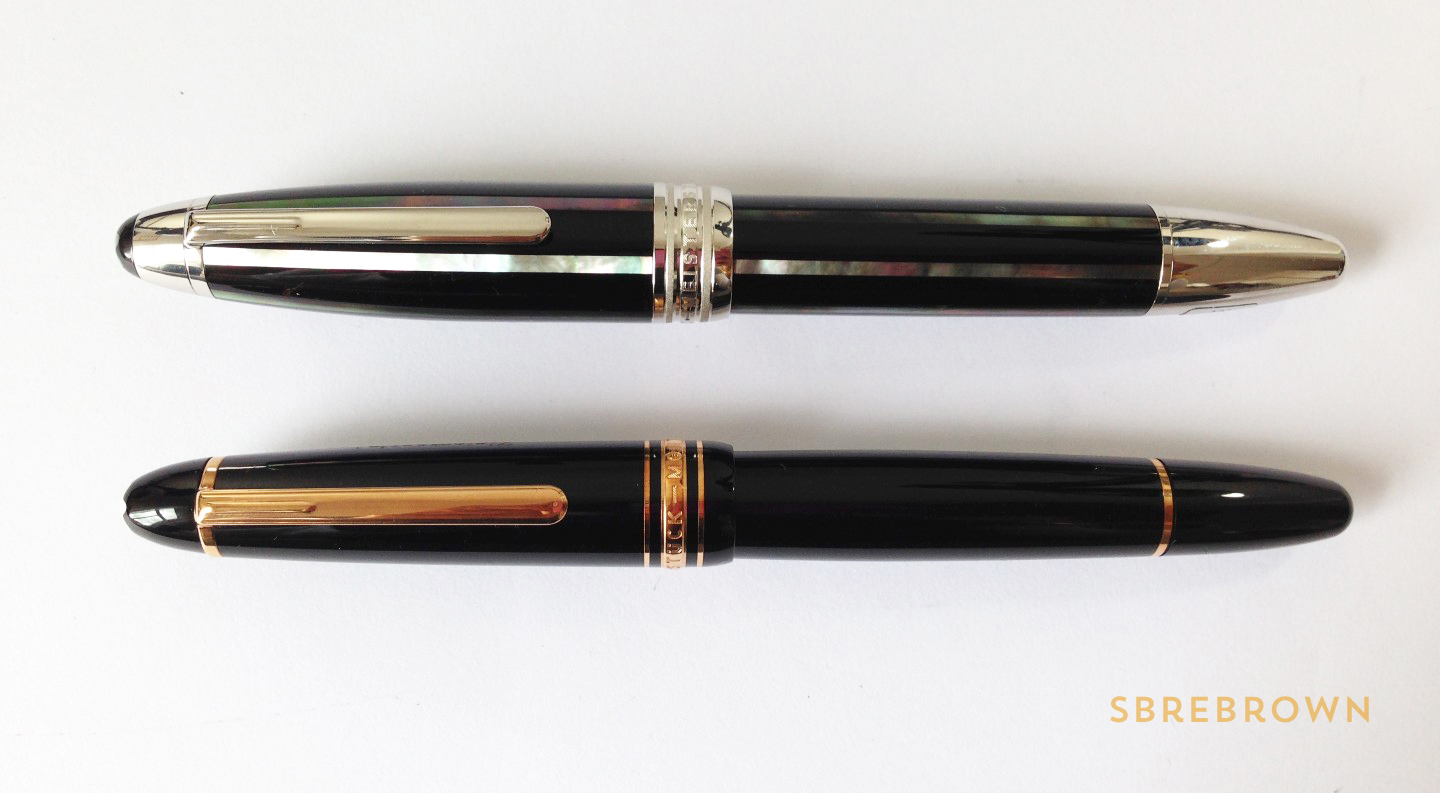 Montblanc Moon Pearl Fountain Pen Review (8)
