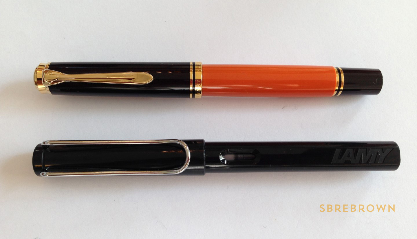 Pelikan Souverän M800 Burnt Orange Fountain Pen Review (2)