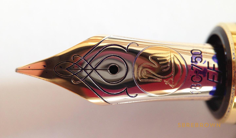 Pelikan Souverän M800 Burnt Orange Fountain Pen Review (5)