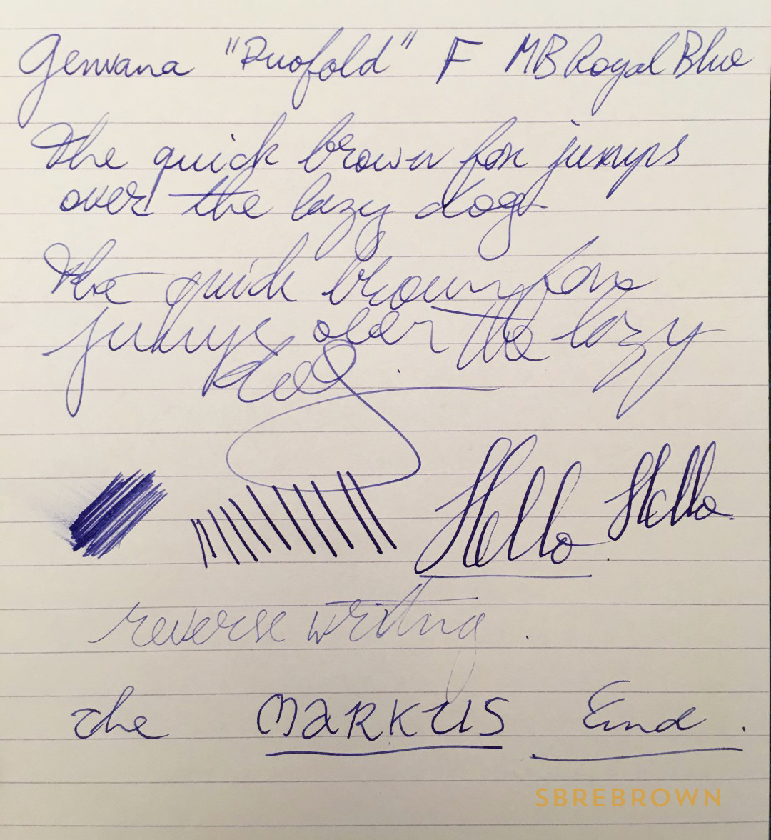 Guandong Genvana Fountain Pen Review