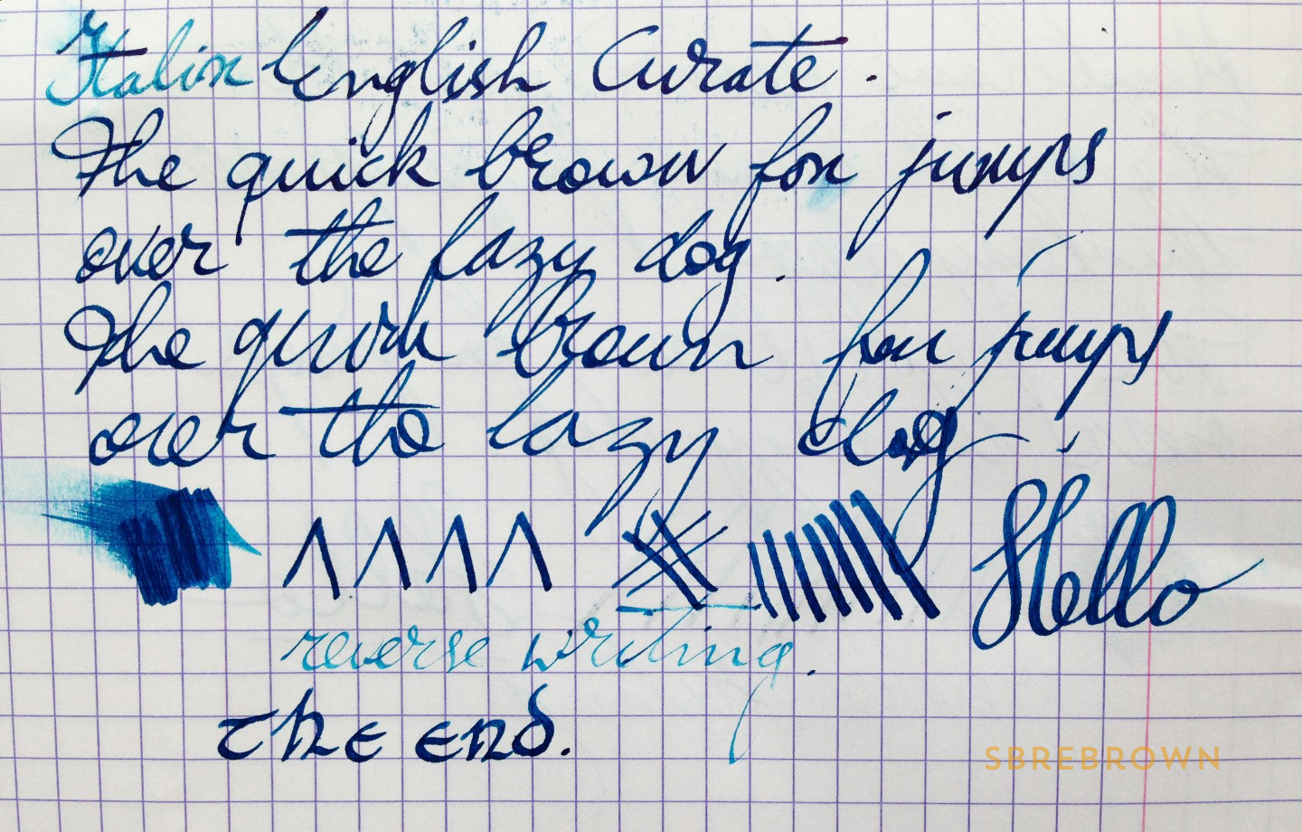Italix English Curate Fountain Pen Review (1)