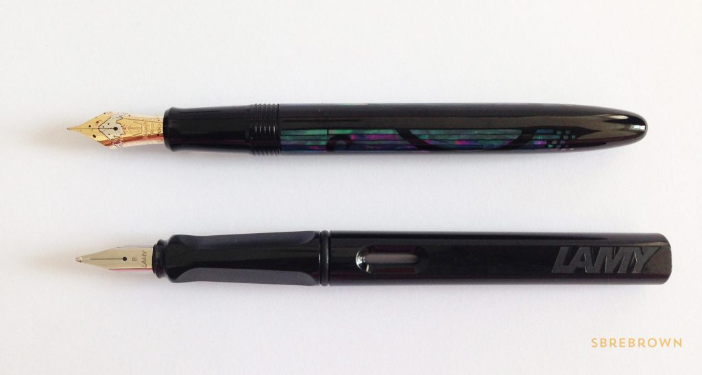 Namiki Yukari Nightline Moonlight Fountain Pen Review 1