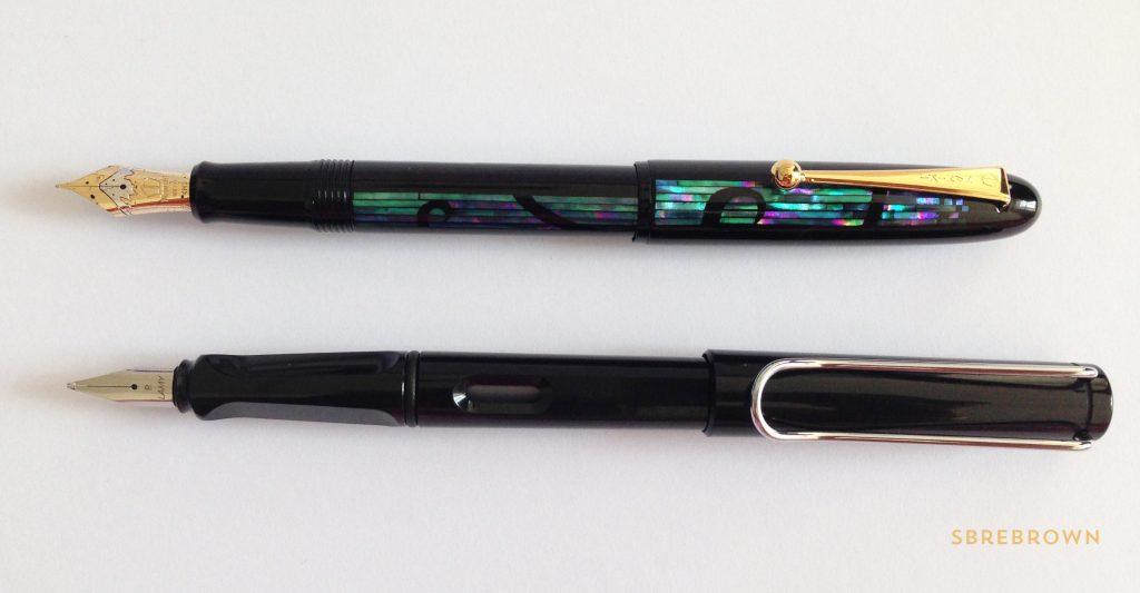 Namiki Yukari Nightline Moonlight Fountain Pen Review 1