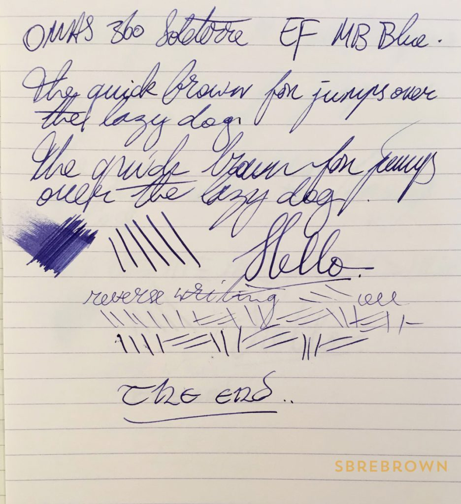 OMAS 360 Soleterre Limited Edition Fountain Pen Review