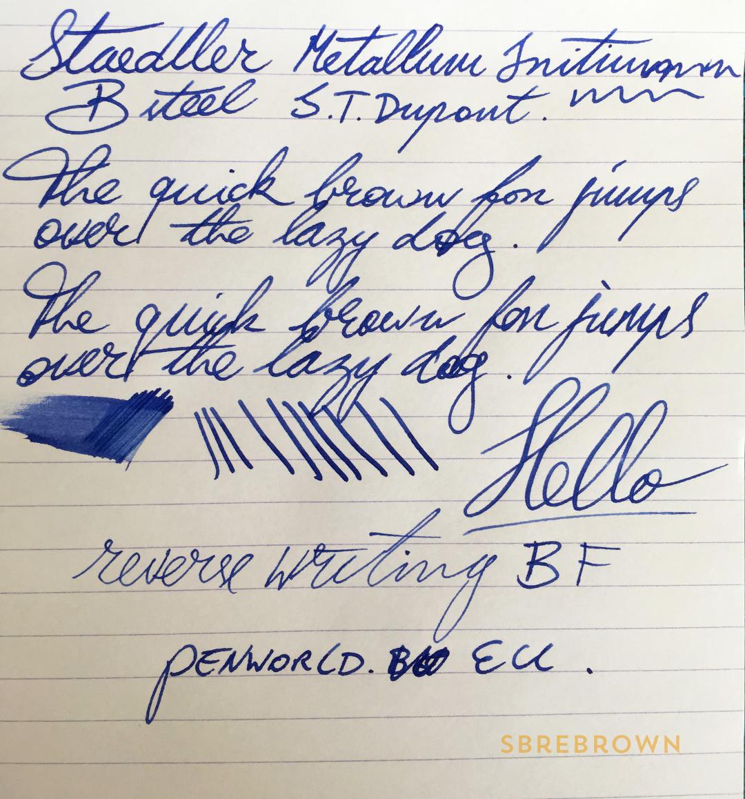 SB. Staedtler Initium Metallum FP Review (6)