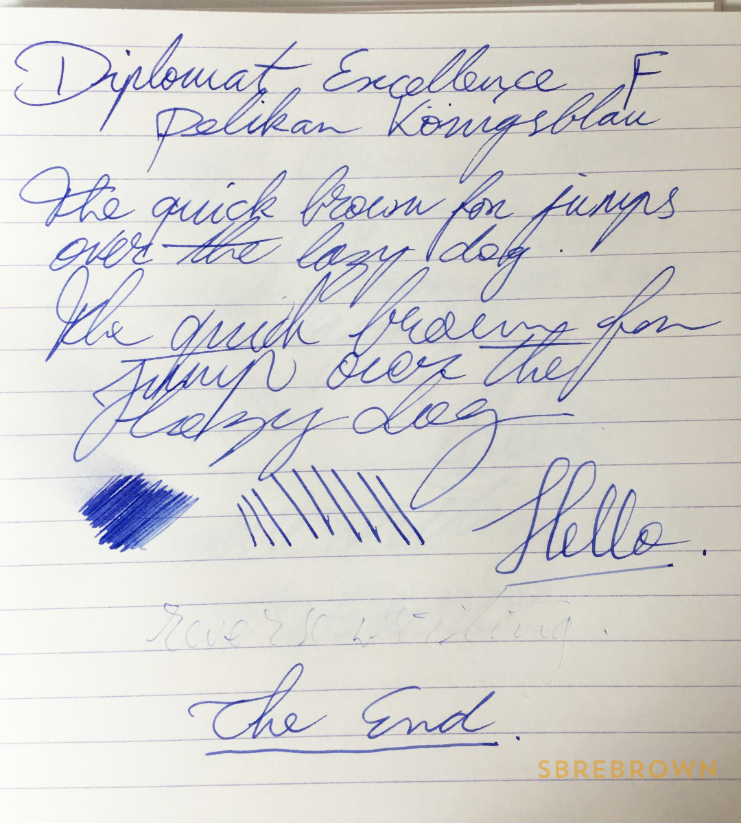 Diplomat Excellence A Evergreen Fountain Pen Review & Giveaway (6)