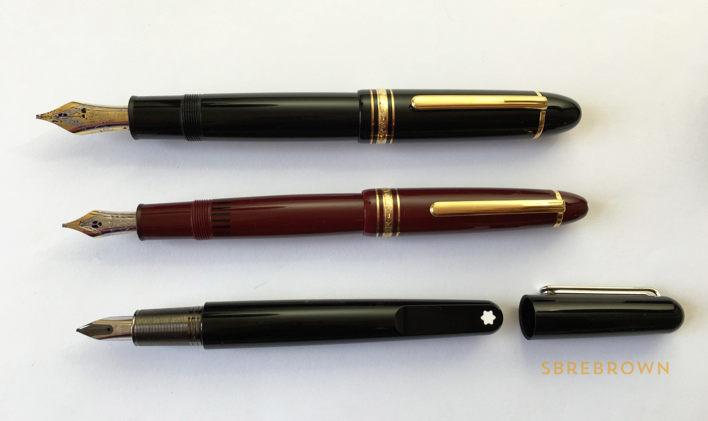 Fountain Pen Shootout 73 Montblanc M for Madness (1)