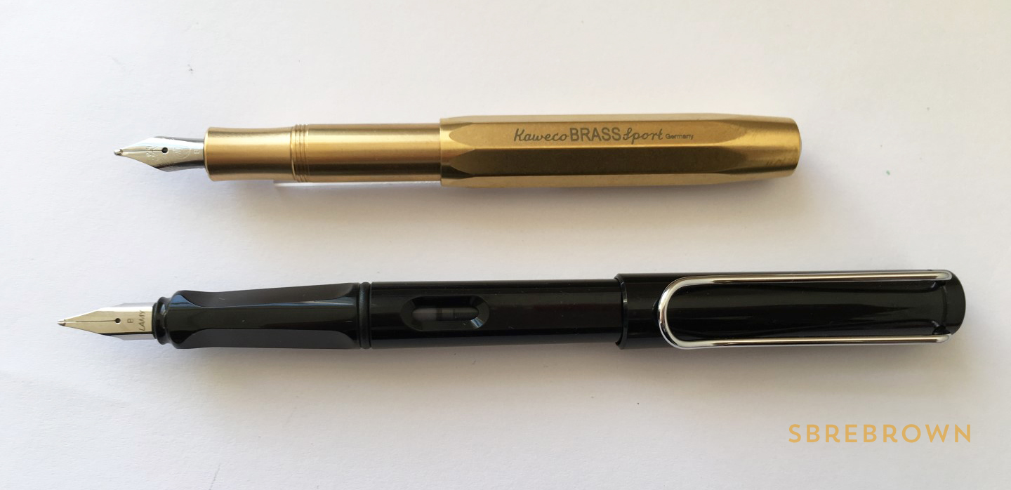 Kaweco Brass Sport Fountain Pen Review (6)