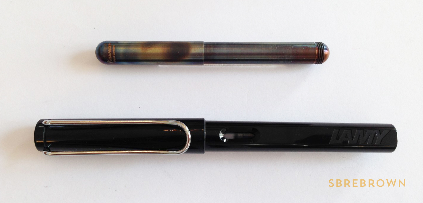 Kaweco Liliput Fireblue Fountain Pen Review (5)