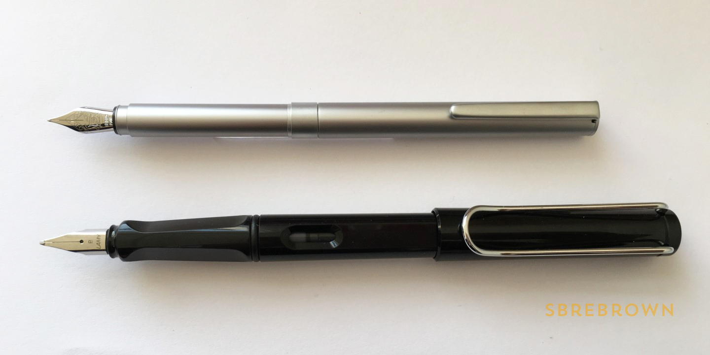 Muji Aluminum Black (CompactPocket) Fountain Pen Review