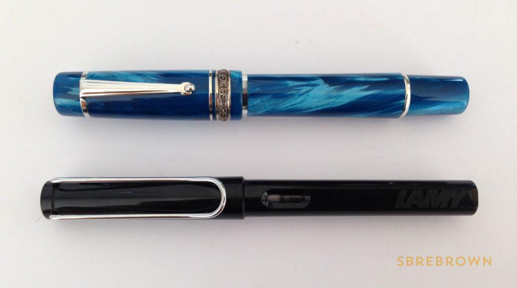 Delta Chatterley Turchese Meraviglia Stantuffo Fountain Pen Review