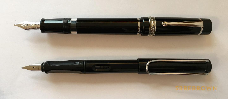 GoldPen Delta Mezzanotte Fountain Pen Review (4)
