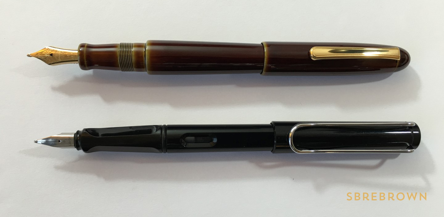 Nakaya Heki Tamenuri Writer Portable Fountain Pen Review