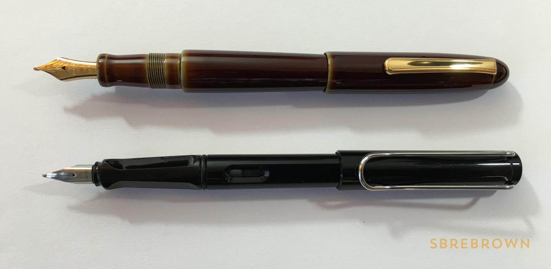 Nakaya Heki Tamenuri Writer Portable Fountain Pen Review