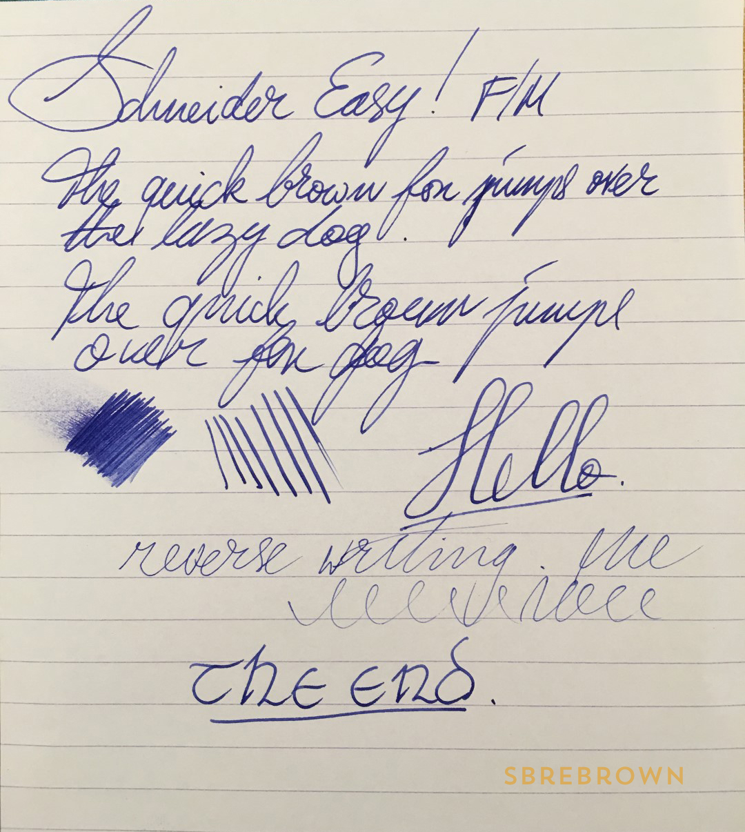 Schneider Easy Fountain Pen Review