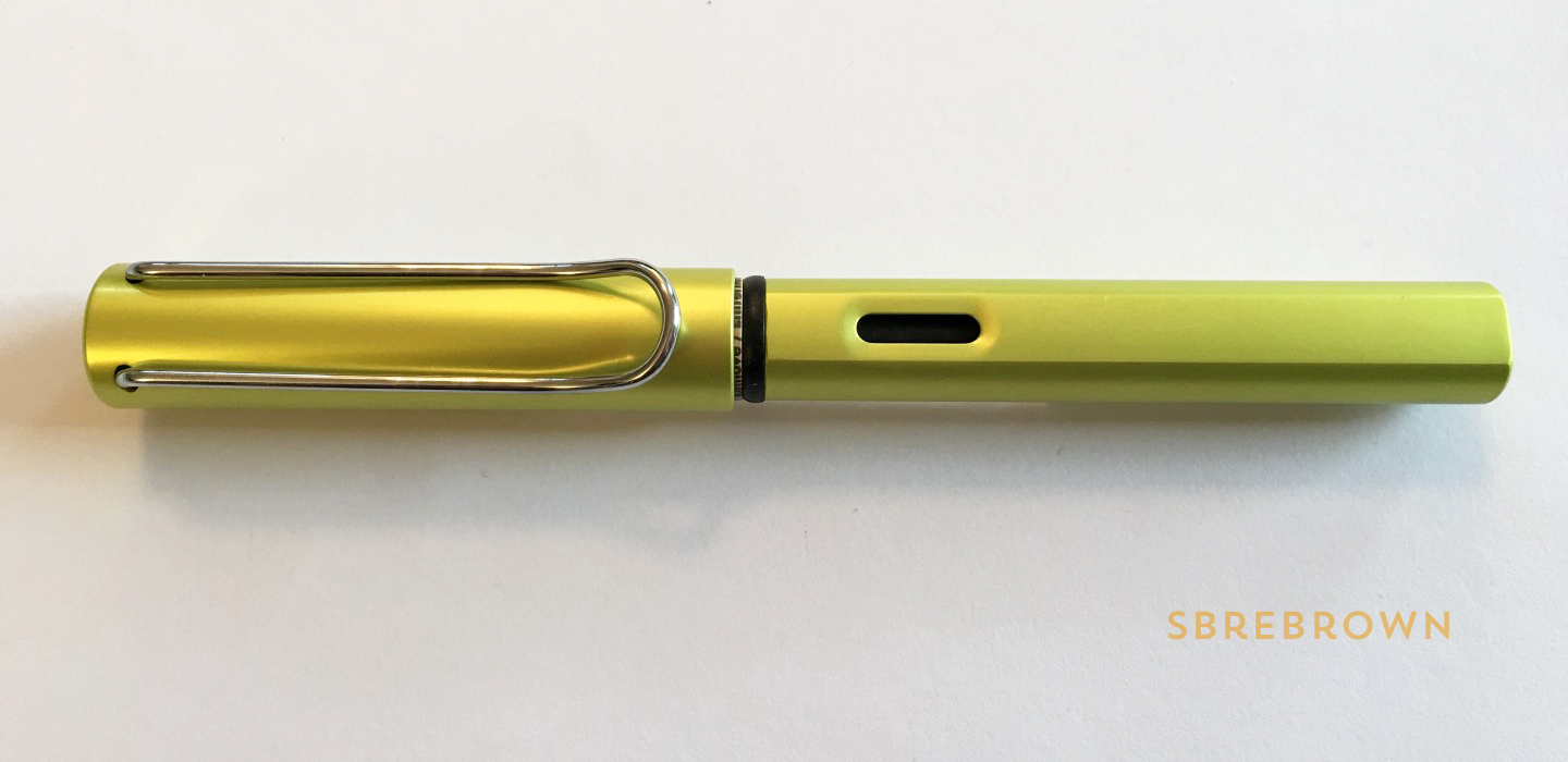 Lamy Al-Star Charged Green Fountain Pen Review
