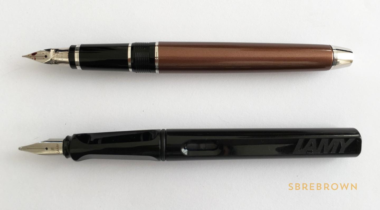 Pilot Falcon Metal with Soft Fine Nib Fountain Pen Review