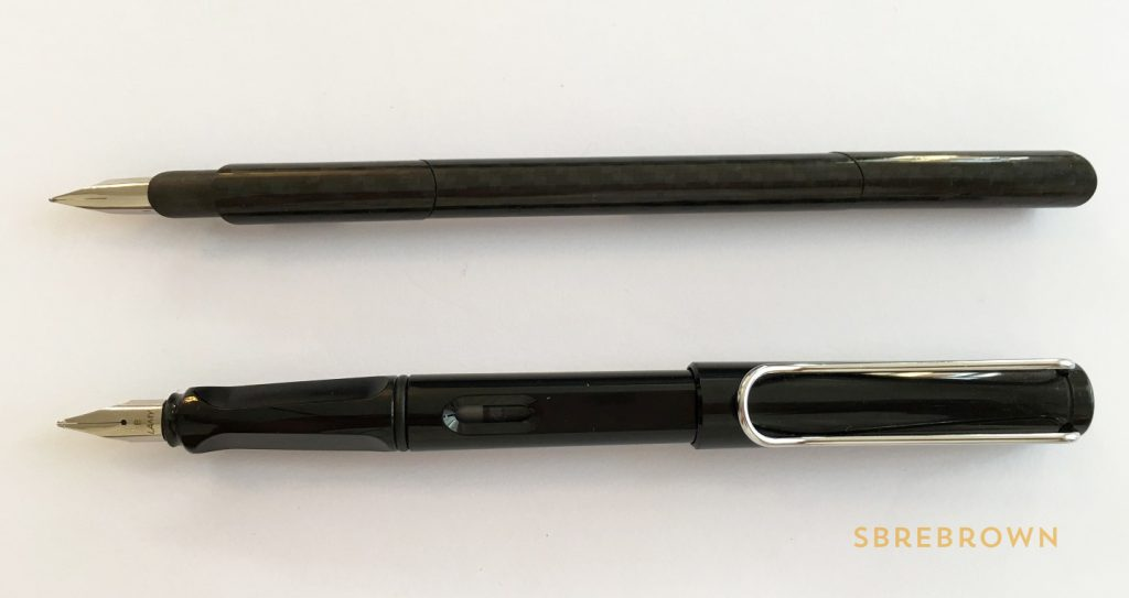 Venustas Carbon V Fountain Pen Review