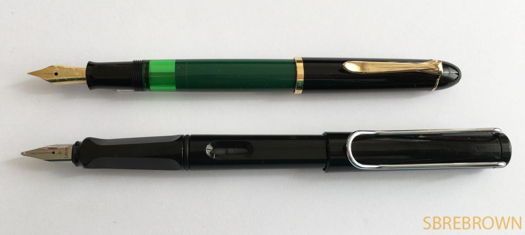 Pelikan M120 SE Green and Black FP Review1