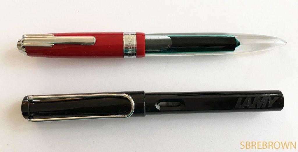 J. Herbin Tempête Fountain Pen Gift Set Review @NoteMakerTweets1
