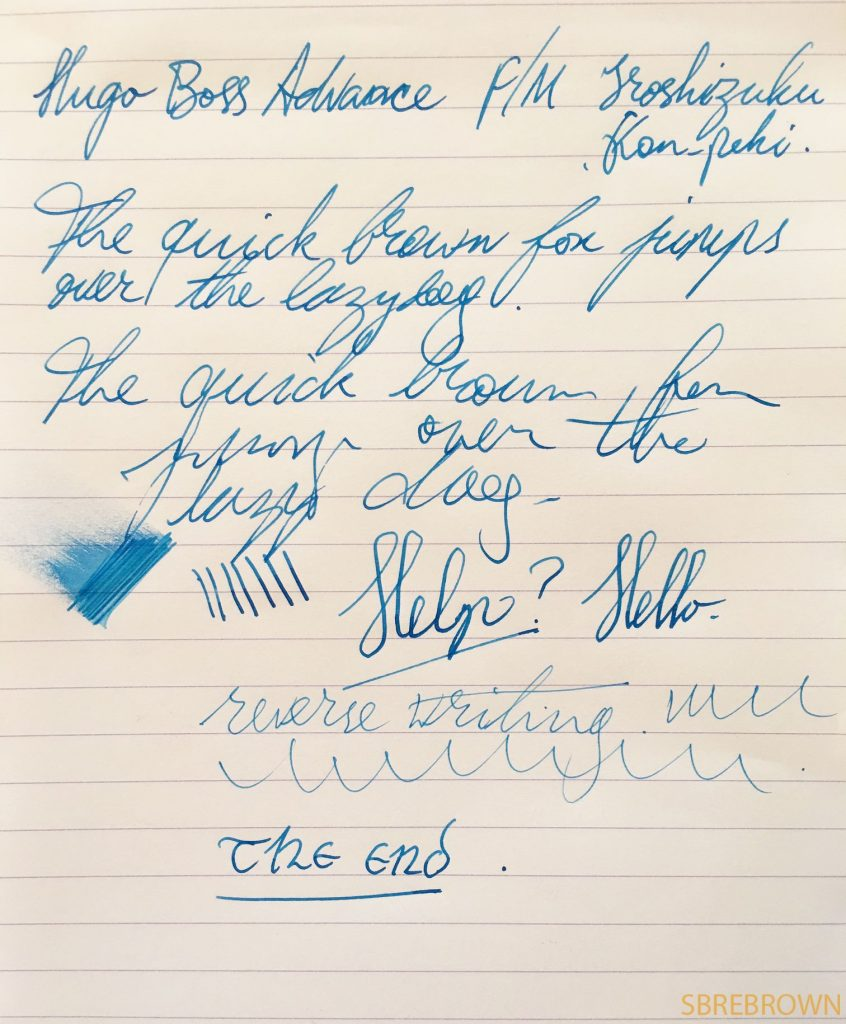 Hugo Boss Advance Fountain Pen Review