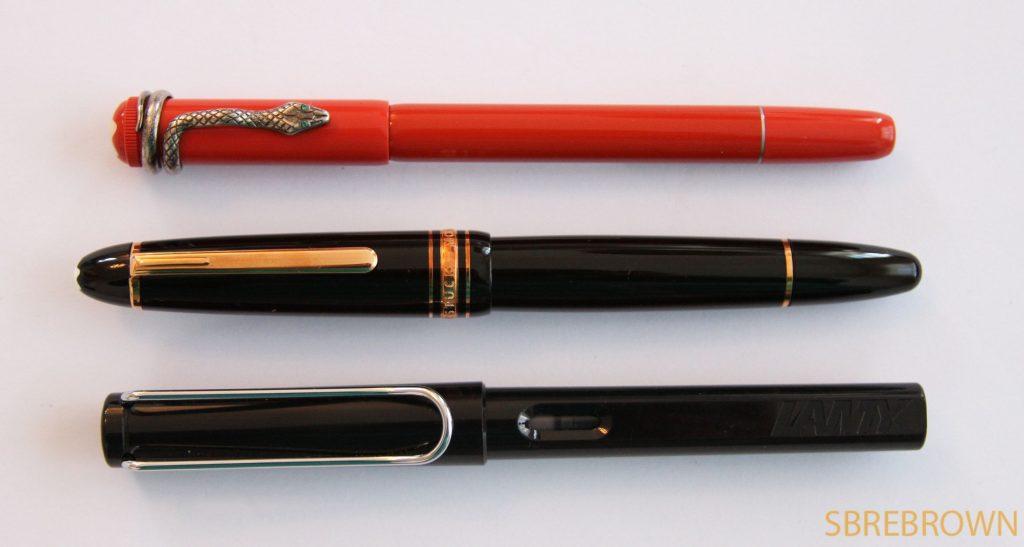 Montblanc rouge et noir coral fountain pen review hey - Salon blanc noir et rouge ...