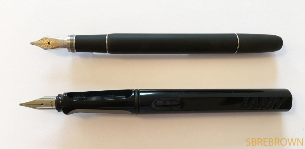 Montblanc Rouge et Noir Ebonite Limited Edition Fountain Pen Review