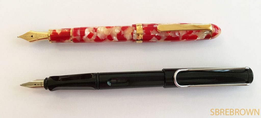 Platinum #3776 Celluloid Koi Fountain Pen Review