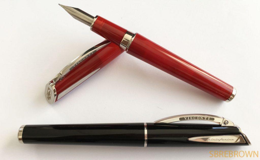 Visconti Pininfarina Regular Fountain Pen & Rollerball Review