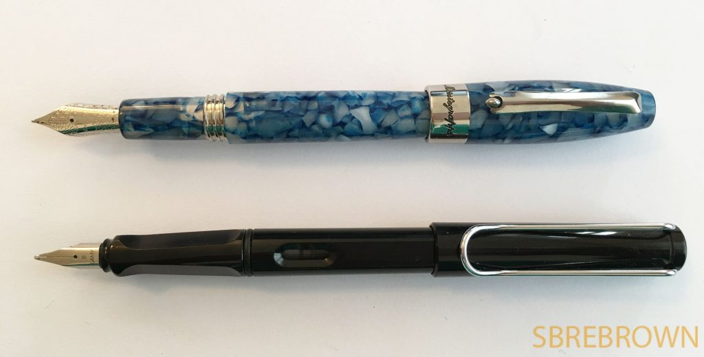 Montegrappa Fortuna Mosaico Marrakech Fountain Pen Review