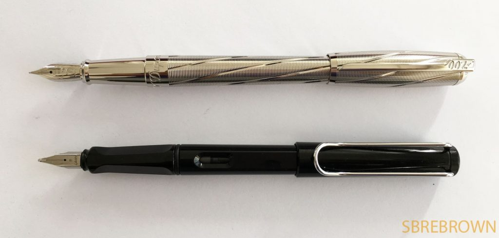 S.T. Dupont Spectre Fountain Pen Review
