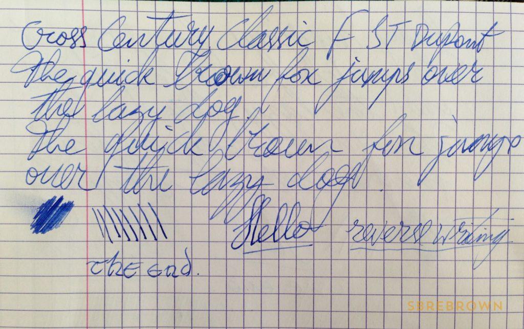 Cross Century Classic Fountain Pen Review