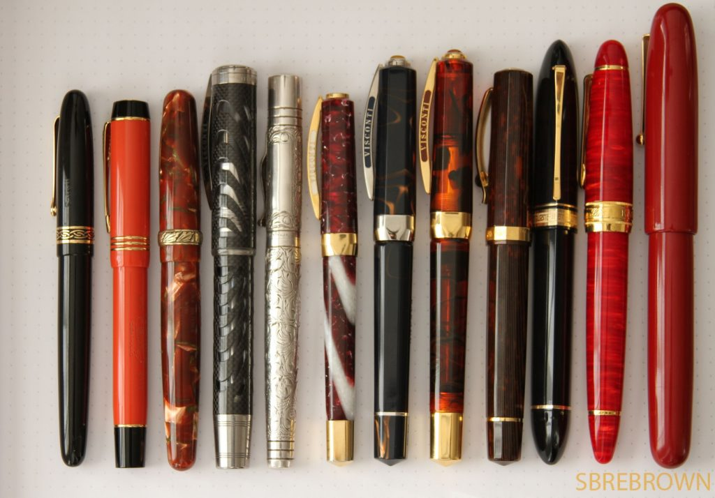 GOAT (Greatest of All Time) Fountain Pens 2016
