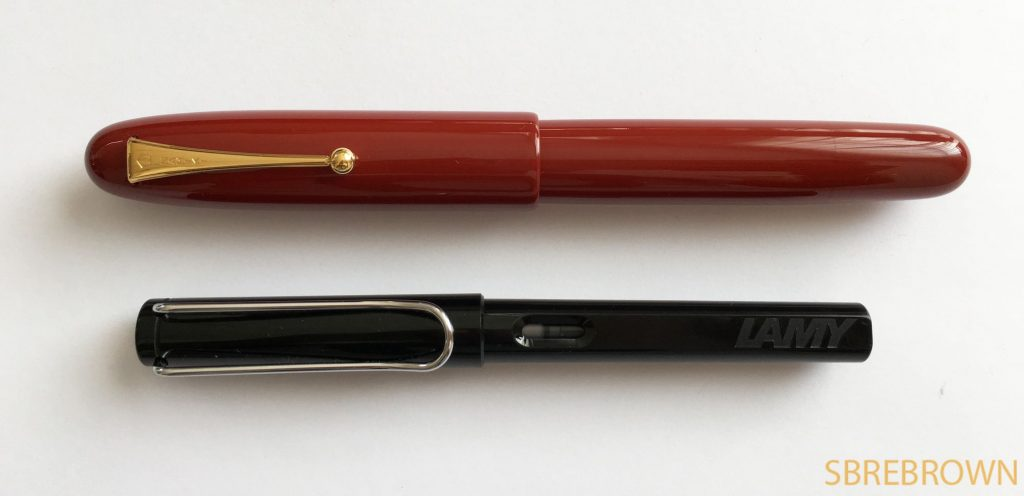 Namiki Emperor Urushi Vermillion FP Review 1