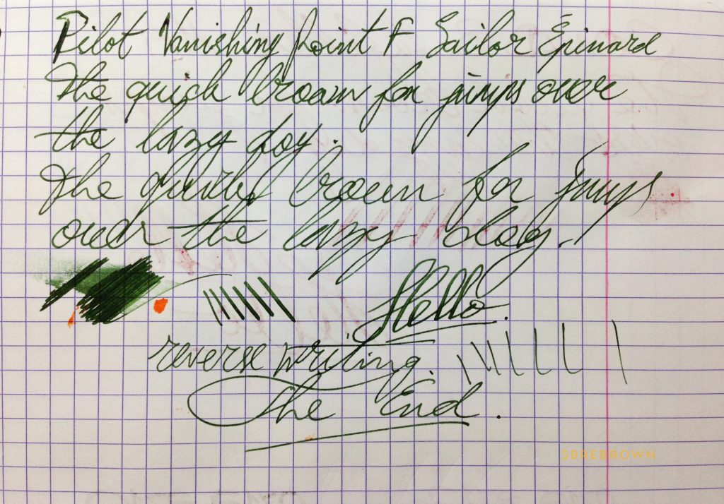 pilot-vanishing-point-valley-green-fp-writing-sample