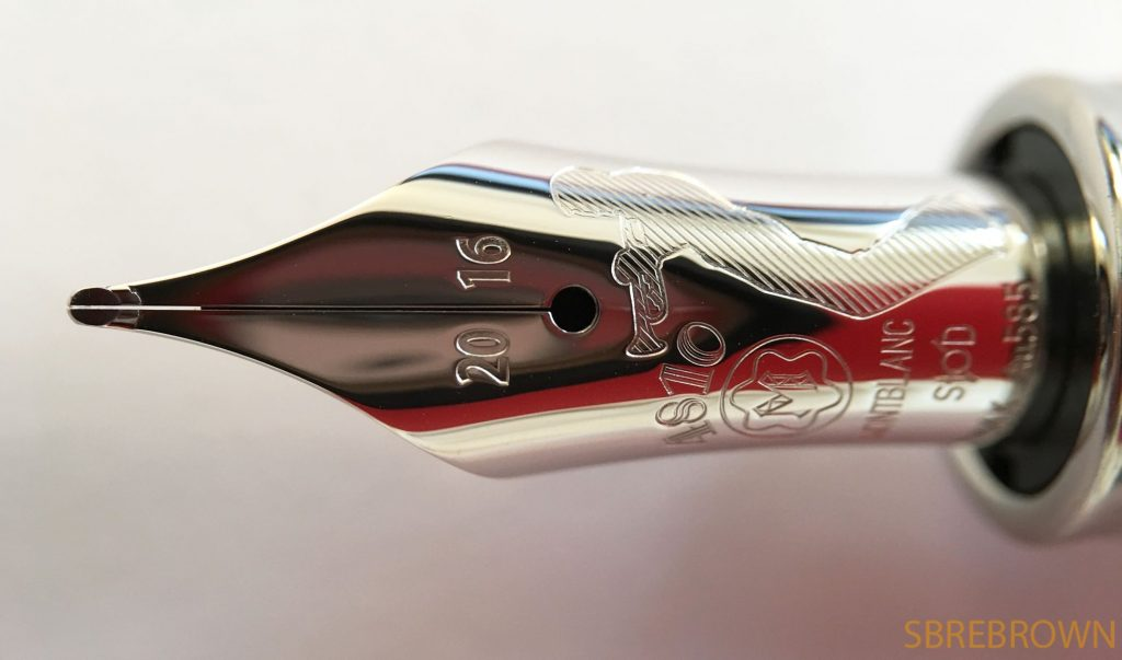 Montblanc Great Characters Miles Davis Fountain Pen Review 1