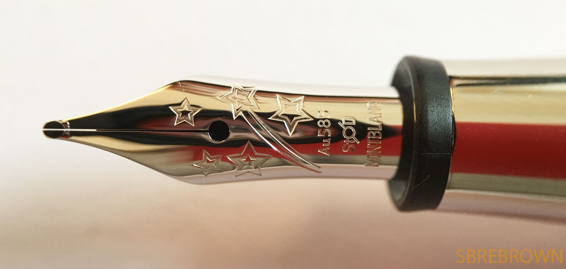4c9efabc701f0 Montblanc Bonheur Fountain Pen Review   Hey there! SBREBrown