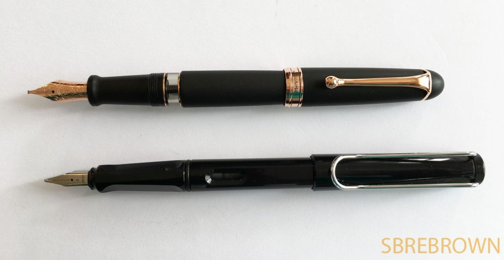 Aurora 88 Black Satin with Stub Nib