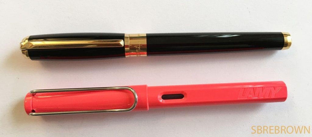 S.T. Dupont Line D Gold and Black