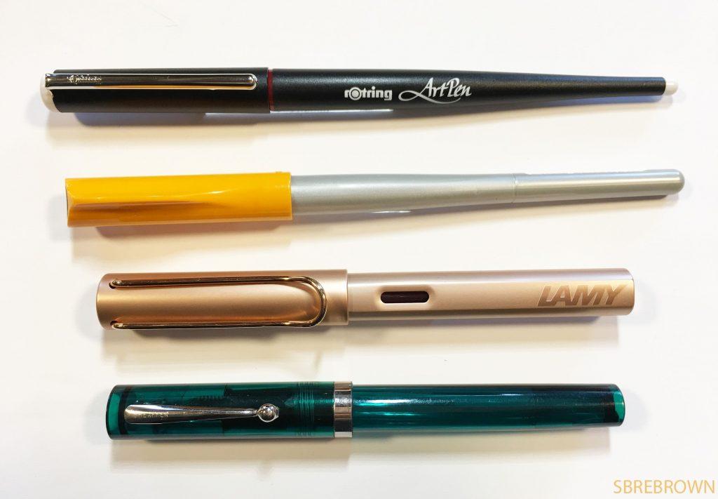 Rotring Art Pen Calligraphy Set