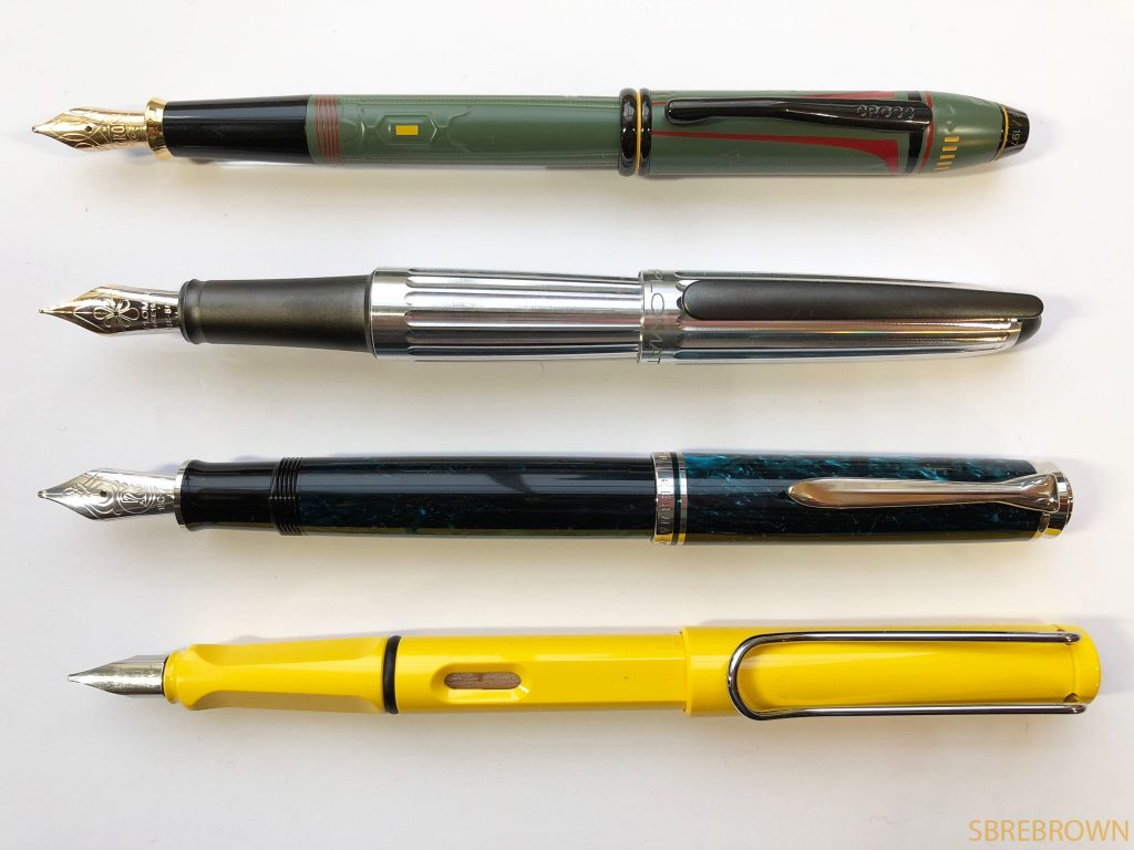 Cross Star Wars Boba Fett Fountain Pen