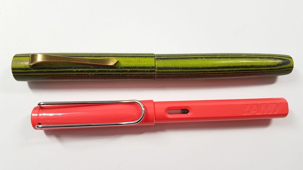 Penprique Micarta Custom Pen
